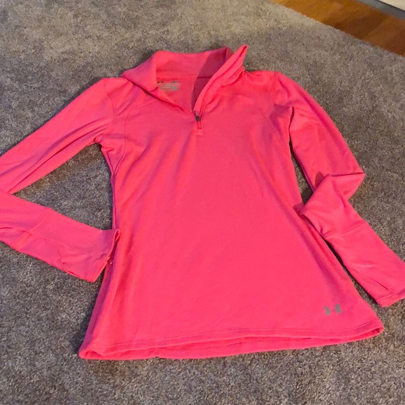 Under Armour Tops - Hot pink Under armour cold gear top